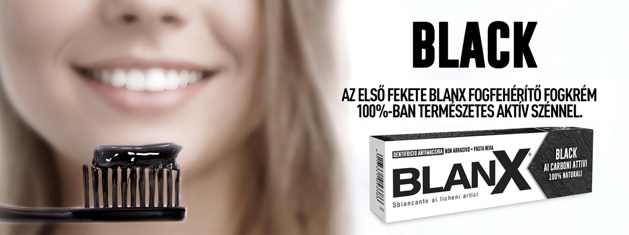 Black il primo dentifricio nero sbiancante
